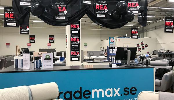 Black Friday 2018 i Trademax-butiker